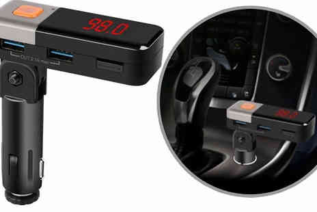 H&C Electronics - BC11 Bluetooth Hands Free Car Kit - Save 55%