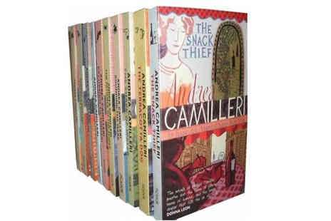 Snazal - Inspector Montalbano 10 Book Collection - Save 65%