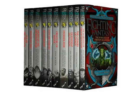 Snazal - Fighting Fantasy Series 10 Book Collection - Save 58%
