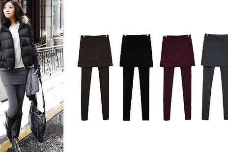 Marcus Emporium - Winter Skirt Leggings in 4 Colours - Save 82%