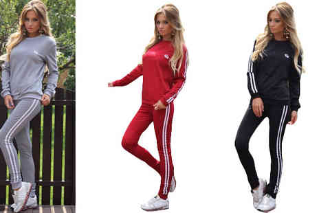 Bazaar me - Casual Sports Suit Set in 3 Colours - Save 74%