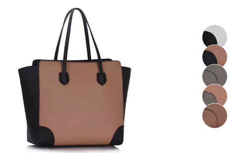 Pearl Info - Pearl Fashion Womens Large Tote Bag in 5 colour options - Save 63%