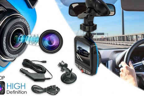 H&C Electronics - HD 1080P In Car Video Recorder - Save 59%