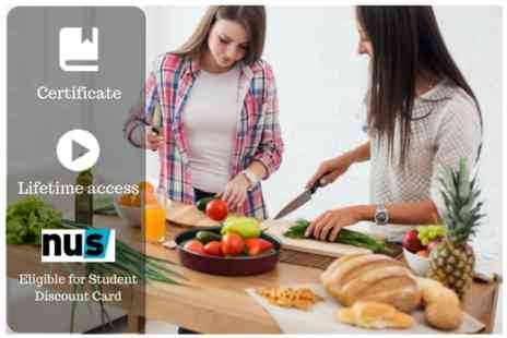 OfCourse - Online vegan & vegetarian cooking course - Save 80%