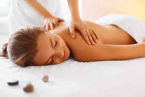 Natural Roots Wellness - Back, neck and shoulder massage or hour long full body aromatherapy massage - Save 52%