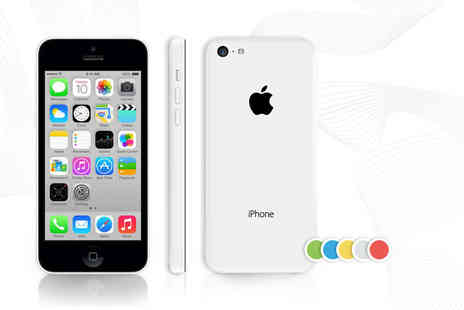 Fone Plaza - Unlocked 16GB iPhone 5c choose from five fab colours - Save 38%