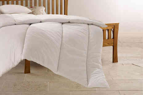 Home Furnishings Company - Set of a single, double, king or super king size duvet and two pillows - Save 74%