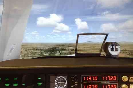 Fly Air Aviation Academy - 20, 30 or 60 Minute Flight Simulator Experience - Save 50%