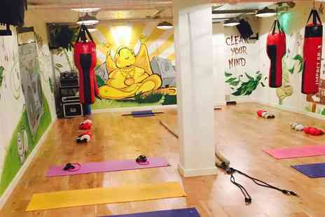 121 Urban Hot Yoga - Five Mix and Match Sessions of Hot Fitness 45 and Hot Yoga - Save 73%