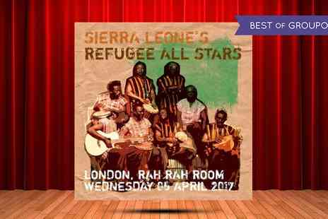 AGMP - One ticket to see Sierra Leones Refugee All Stars on 5 April - Save 25%