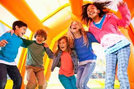 Bouncing Crazy - Hire of One or Two Inflatable Units - Save 53%