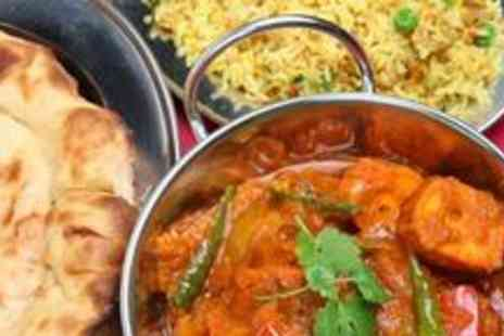 The Spice Room - Three-course Indian meal for two with drinks - Save 63%