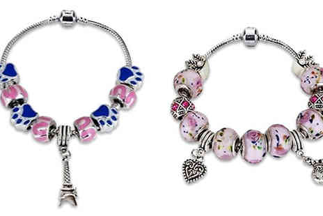 Shapelle - Charm Bracelet Choose From Two Colours - Save 84%