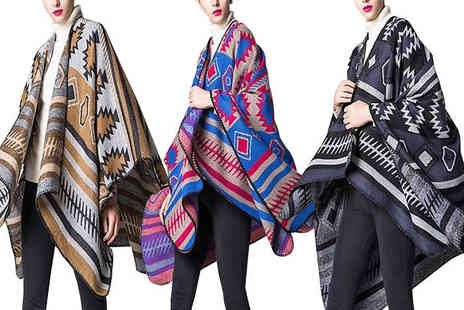 Shapelle - Oversized Vintage Blanket Available in Three Colours - Save 60%