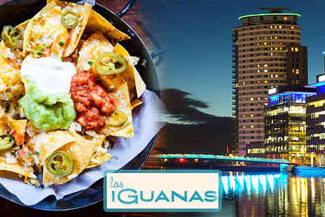 SuperBreak - One Night Hotel Stay With 3 Course Las Iguanas Meal - Save 0%