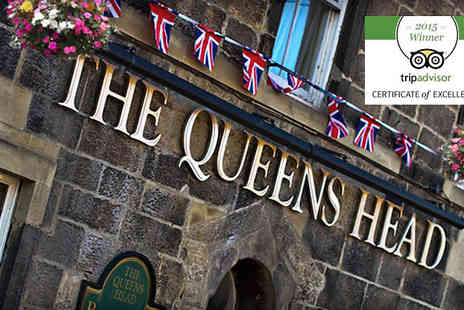 Queens Head Hotel - One or two Night 4 Star Inn Stay For Two Plus Breakfast - Save 39%