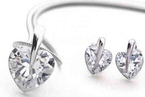 Fakurma - Enchanted Clip Heart Duo Set - Save 87%