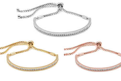 Lily Spencer - Friendship Bracelet Made With Crystals From Swarovski - Save 78%