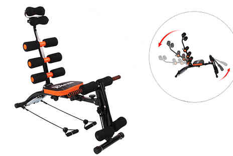 F & A Mediterranean Delicatessen - Six in One Abdominal Trainer Machine - Save 0%