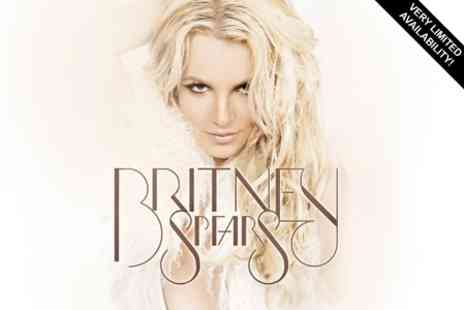 Sheffield Motorpoint Arena -Two Tickets to See Britney Live in Concert - Save 52%