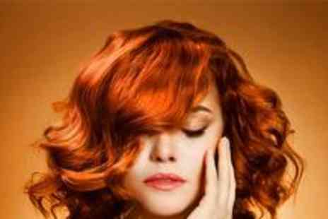 Simon Thornley Hair Design - Wash, cut and blow dry with half head of highlights or full head of colour - Save 79%