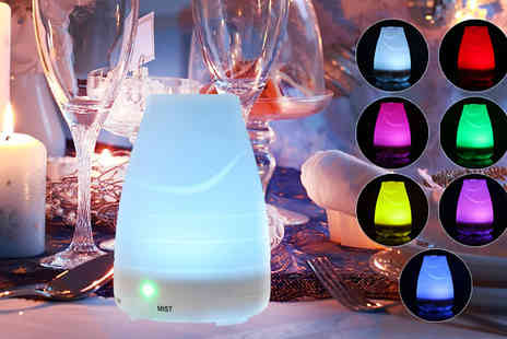 Supreme Direct - Seven Colour Led Humidifier - Save 68%