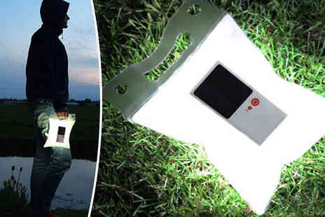 Supreme Direct - Inflatable Waterproof Solar Light - Save 67%