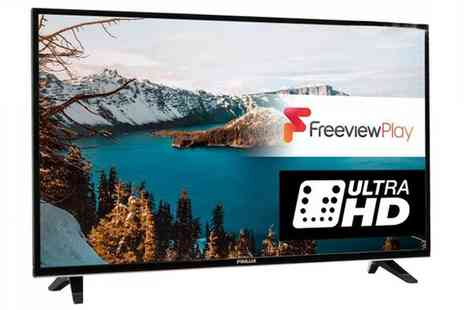 Groupon Goods Global GmbH - Finlux 55 Inch 4K Ultra HD Freeview HD LED Smart TV With Free Delivery - Save 52%