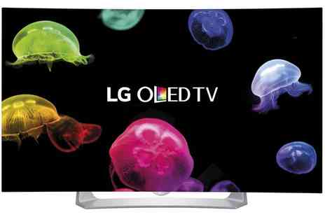 Groupon Goods Global GmbH - LG 55 Inch Curved OLED Smart TV With Free Delivery - Save 38%