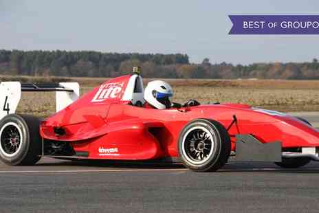 M Tech lite - Formula Renault Race Car Driving Experience for One or Two - Save 0%