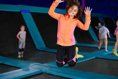Bounce in Birmingham - One Hour Bounce Session with Meal for Up to Four Kids - Save 14%