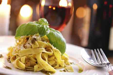 Andrea's Italian Restaurant - Three Course Italian Meal with Wine for Two or Four - Save 58%