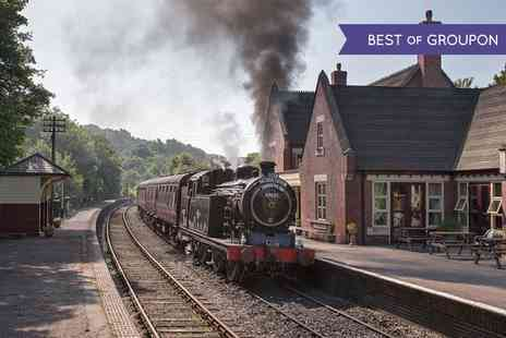 Churnet Valley Railway - Churnet Valley Railway Green or Blue timetable Family Ticket - Save 40%
