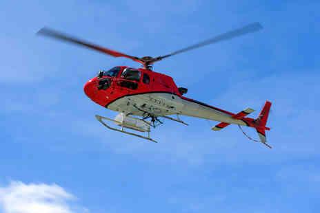 Heli Adventures - Helicopter buzz flight or pleasure flight or 20 or 30 min sightseeing flight - Save 0%