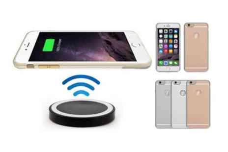 Groupon Goods Global GmbH - Wireless Charging Set for iPhone - Save 43%