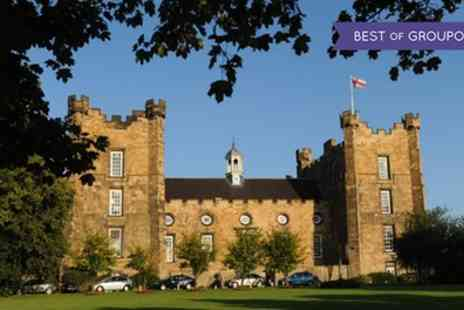 Lumley Castle Hotel - One or Two Nights Stay for Two with Breakfast and Cream Tea - Save 0%