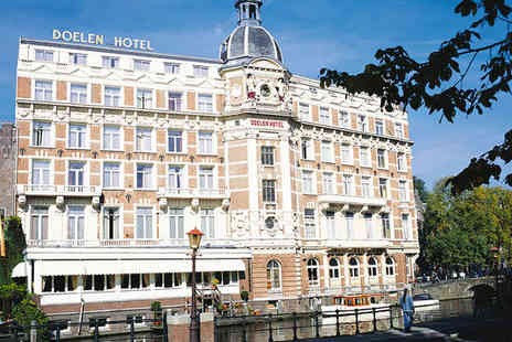 NH Collection Amsterdam Doelen - Five Star 4 nights Stay in a Superior Double Room with View - Save 72%