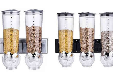 Denny International - Two or Three Wall Mounted Cereal Dispensers - Save 70%