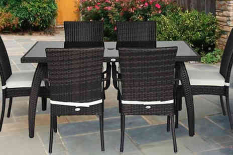 MHSTAR - 13 Piece Durable Dining Set - Save 0%