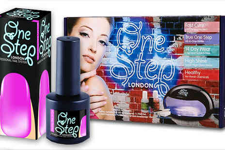 Best of the UK - UV Gel Nails Starter Kit with Shocking Pink UV Nail Colour - Save 86%
