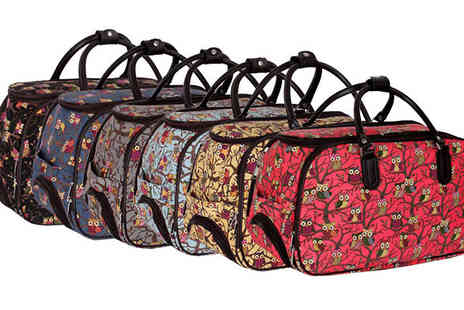 Pearl Info - Pearl Fashion Owl Print Holdall Six Colours - Save 42%