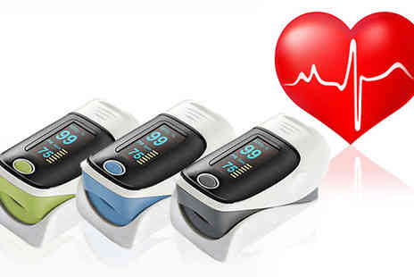 Black Sheep Limited - Fingertip Pulse Oximeter Monitor - Save 75%