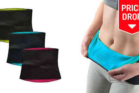 Apricot Leaf - Thermo Ab Exercise Slimming Belt Three Colours - Save 91%