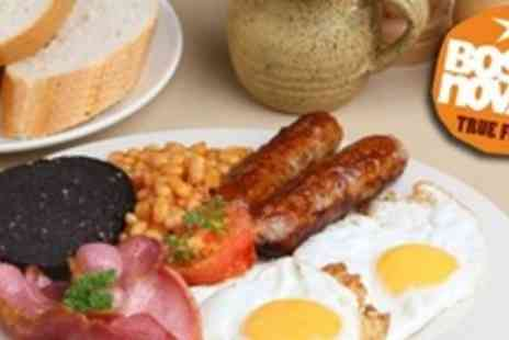Cafe Boscanova - Full Cooked Breakfast For Four  With Tea or Coffee, Plus Orange Juice Each - Save 54%