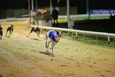 Coral Brighton and Hove Greyhound - Coral Brighton Greyhound Stadium Entry For Two With Food and Drink - Save 73%