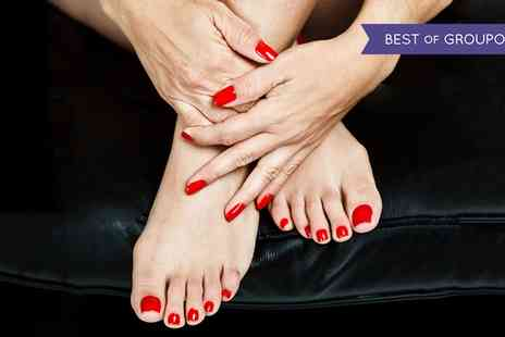 Relaxstation - Shellac Manicure, Pedicure or Both - Save 63%