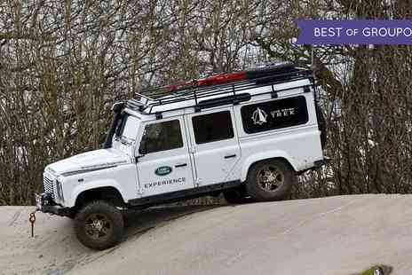 LAND ROVER - Land Rover Half or Full Day Driving Experience with Land Rover - Save 0%
