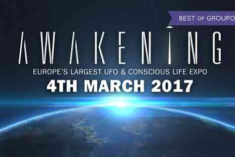 Awakening - One ticket to Awakening for an adult, child or a family of four on 4 March - Save 45%