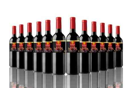 The Vineyard Club - 12 or 16 Bottles of Spanish Jumilla Red Wine With Free Delivery - Save 64%