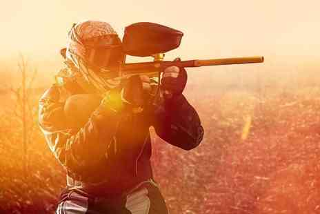 Nationwide Paintball - Paintballing day for up to five people - Save 93%